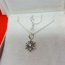 Pandora Silver Snowflake Charm Necklace
