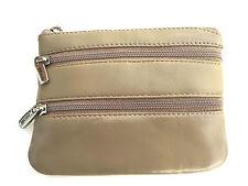 Golunski Ladies 3 Zip Coin Purse In Super Soft Leather