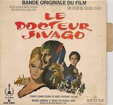 EP 4 TITRES BOF/OST--LE DOCTEUR JIVAGO--MAURICE JARRE