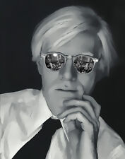 Andy Warhol Studio 54 Glasses Pop Art Canvas 16 x 20  #8838