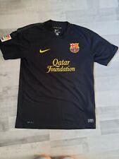 Para hombres Nike Barcelona Lejos Camiseta De Fútbol 2011 - 2012 Talla M