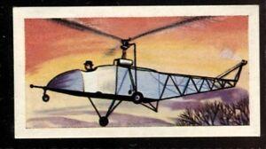 Tobacco Card, Amalgamated, Mills,HISTOIRE DE L'AVIATION,1962,Sikorsky VS.300,#33