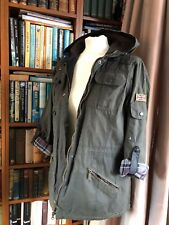 VINTAGE BARBOUR LADIES PARKA / JACKET UK14