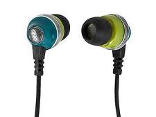 Monoprice 10153 Noise Isolating Earbuds Headphones - Green