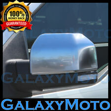 15-17 Ford F150 Truck Ingot Silver Mirror Cover -1 Pair Left+Right 2016 2017