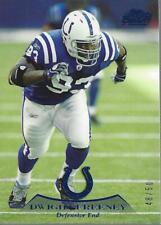 2010 Topps Prime Blue #63 Dwight Freeney /50 - NM-MT