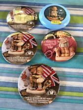 Memories of Yesterday Mabel Lucie Attwell Pinback Buttons Lot of 5 Enesco Other