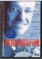 PETER FRAMPTON -  LIVE IN DETROIT - DVD - MINT