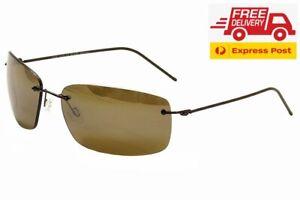 Maui Jim Frigate POLARIZED Sunglasses - Gloss Dark Brown HCL Bronze