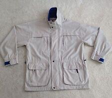 Men's Beige K-WAY Jacket, L - MINT Condition, RRP $150