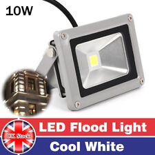 LED10W Cool White Flood Light Outdoor Garden Security Landscape Outside  Lamp