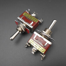 2PC R-1122 Motor Manually Reversing Switch Knob Toggle Switch 15A 250V On-Off-On