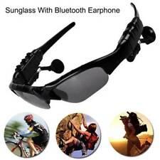 Bluetooth Sunglasses Glasses Ear Plug Stereo Music Headset Headphone with Mic