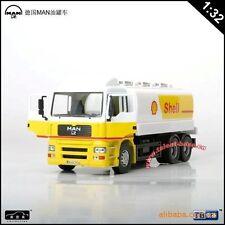 Automaxx 1:32 Dutch MAN Refined SHELL Oil tank truck Diecast Model Tanker 1/32