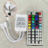 NEW 44 Key IR Remote Controller For RGB 3528 5050 LED Light Strip Two outputs #