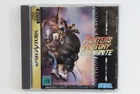 Fighter's History Dynamite W/ Spine SEGA Saturn Japan Import US Seller G7991