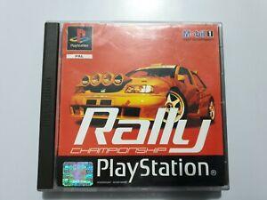 Mobil 1 RALLY CHAMPIONSHIP PlayStation 1 (ps1) PAL  España COMPLETO