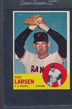 1963 Topps #163 Don Larsen Giants VG/EX *670