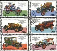Togo 1221A-1226A (kompl.Ausgabe) gestempelt 1977 Geburtstag v. L. Renault