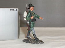 Thomas Gunn GW044 belga Ejército Infantería marchando con Mochila soldado de juguete