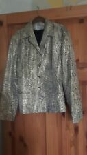 vintage top shop metalic jacket size 10