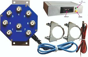 MS-S7 WEB controlled REMOTE ANTENNA SWITCH 7 POSITIONS 2kW PEP Ready for use