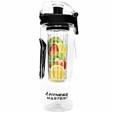 Infuser Water Bottle - Best for Detox and Infused Hydration - 32 Oz, Leak Proof,