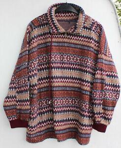 Strickpulli Pullover Wolle Freizeit Größe XL retro vintage braun