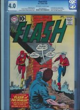 CGC 4.0 FLASH #123 1ST GOLDEN AGE FLASH IN SA 1ST MENTION OF EARTH 2 OW/W PAGES