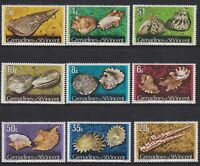 Grenadines of St. Vincent - Shells and Molluscs 1974