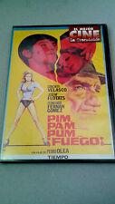 """DVD """"PIM, PAM, PUM, ¡FUEGO!"""" COMO NUEVA PEDRO OLEA CONCHITA VELASCO FERNANDO FER"""