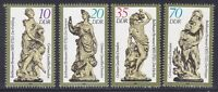 Germany DDR 2443-46 MNH OG DRESDEN Figurines of the Seasons Set of 4 VF