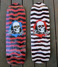 Powell Peralta Rare WHITE Bones Rip Ripper Reissue Skateboard Deck Vintage VCJ