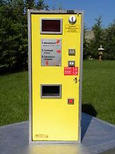 Vintage Viennese bus coin operated ticket machine - coin op Wien - ALMEX