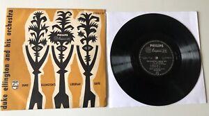 "RARE LP 10"" DUKE ELLINGTON AND HIS ORCHESTRA LIBERIAN SUITE PHILIPS HOLLAND"