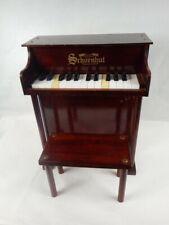 Vintage Schoenhut Childrens Traditional 25 Key Toy Piano & Bench 129th Anniv '01