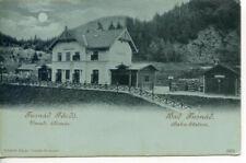 AK Bad Jusnad Ungarn Bahnhof Mondschein Jusnad Fürdö um 1914 WK1