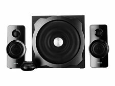 Trust Tytan 2.1 PC Speaker System With Subwoofer for Computer and Laptop 120 W
