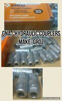 JCB BACKHOE - GREASE GUN NOZZLE COUPLER