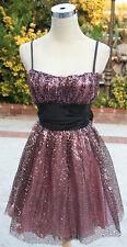 NWT B. Darlin $90 Pink Juniors Prom Party Day Dress 11