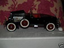 Danbury Mint 1927 STUTZ BLACK HAWK CAR MIB PRISTINE