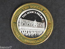 Venetian Casino Silver Strike Gaming Token Nevada D5256