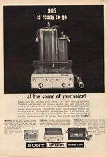 1965 Sony Superscope Model 905 Reel to Reel  PRINT AD