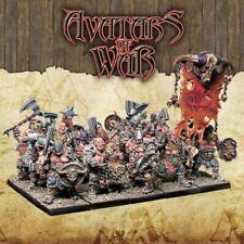 Warhammer Avatars of War Barbarian Marauders with Shields box plastic New
