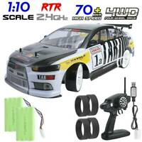 RC Racing Car Drift Toy Vehicle 70km/h 1/10 4×4 Radio Remote Control Model Car