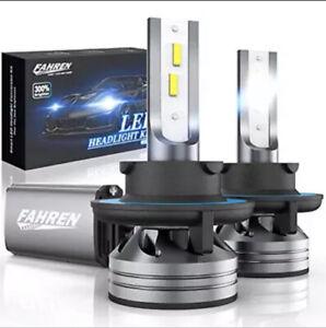 Fahren 9008/H13 LED Headlight Bulbs, 60W 12000 Lumens Super Bright LED Kit 6500K