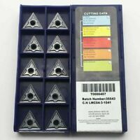 10pcs TNMG160404 LT10 CNC cutting tool carbide insert lathe turning blade WTJNR