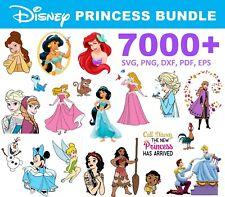 7000+ Disney Princess SVG Bundle for Cricut, Cricut Explore Air 2
