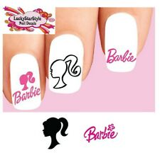 Waterslide Nail Decals Set of 20 - Barbie Assorted