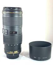 Nikon AF-S 70-200mm f/4 G VR ED Zoom Lens for Nikon SLR Cameras - Boxed - JS 046